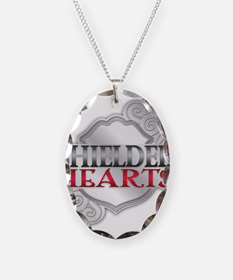 Shielded Hearts Logo - Stage 2 (Badge) Necklace