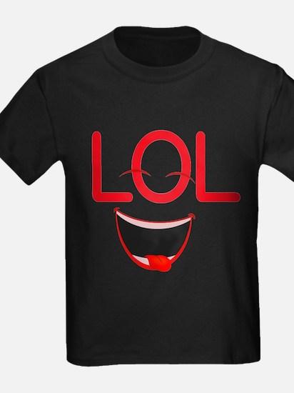 LOL laugh out loud T