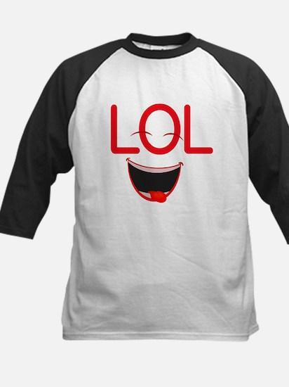 LOL laugh out loud Kids Baseball Jersey