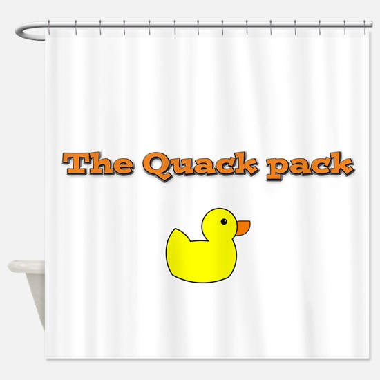 The Quack pack Shower Curtain