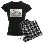 fawn-tastic 1 crop Women's Dark Pajamas