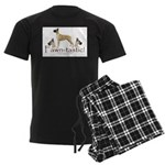 fawn-tastic 1 crop Men's Dark Pajamas