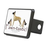 fawn-tastic 1 crop Rectangular Hitch Cover