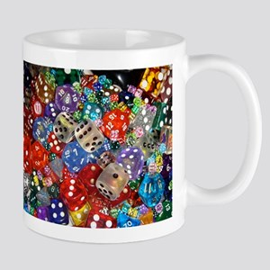 Lets Roll - Colourful Dice Mug