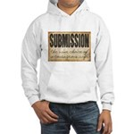 Submission Demands Courage Hooded Sweatshirt