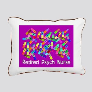 Retired Psych Nurse FUSCHIA LARGE Rectangular