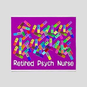 Retired Psych Nurse FUSCHIA LARGE Stadium Bla