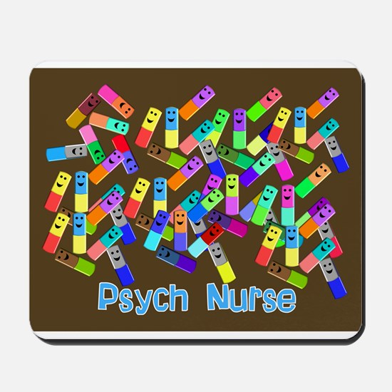 Psych Nurse Blanket Size.PNG Mousepad