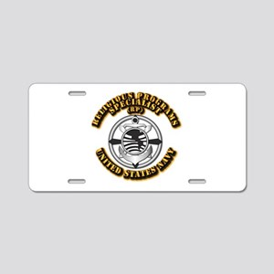 Navy - Rate - RP Aluminum License Plate