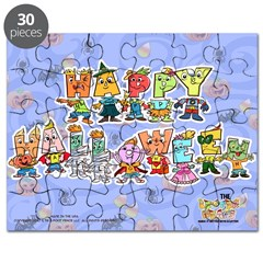 The Letterheads Halloween Puzzle