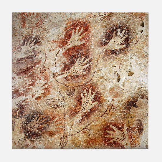 Gua Tewet The Tree Of Life Tile Coaster