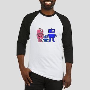Robot Family Baseball Jersey