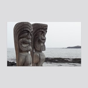 Place of Refuge Tikis - 35x21 Wall Decal