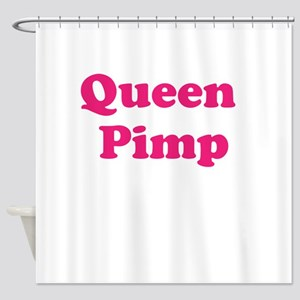 Queen Pimp Shower Curtain