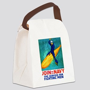 Torpedo Lad Canvas Lunch Bag