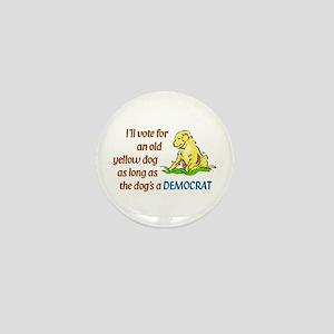 Yellow Dog, Original Mini Button