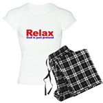 Relax - red white blue Women's Light Pajamas