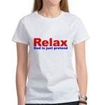 Relax - red white blue Women's T-Shirt