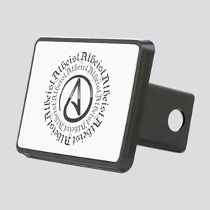 Atheist Circle Logo Rectangular Hitch Cover