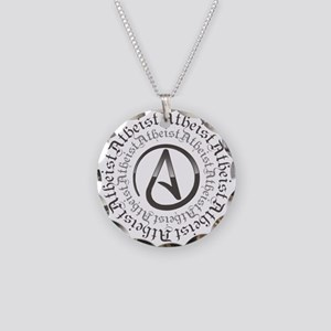 Atheist Circle Logo Necklace Circle Charm