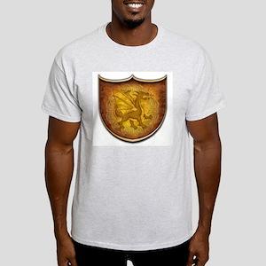 Copper Dragon Shield Light T-Shirt