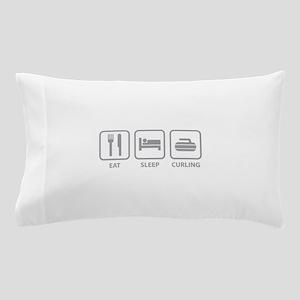 Eat Sleep Curling Pillow Case