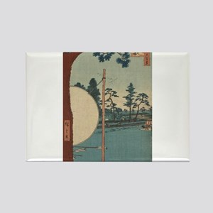 Takata riding grounds - Hiroshige Ando - 1857 Magn