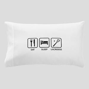 Eat Sleep Lacrosse Pillow Case
