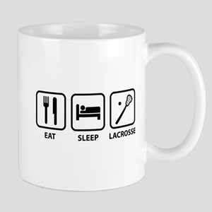 Eat Sleep Lacrosse Mug