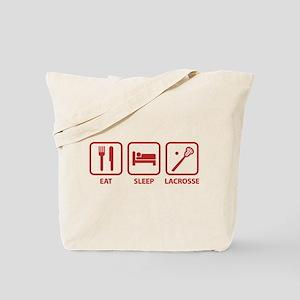 Eat Sleep Lacrosse Tote Bag