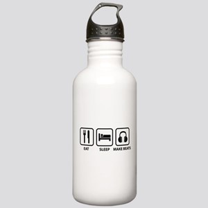 Eat Sleep Make Beats Stainless Water Bottle 1.0L