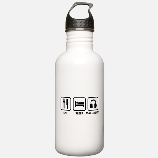 Eat Sleep Make Beats Water Bottle