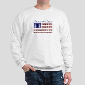 RVing American Flag Sweatshirt