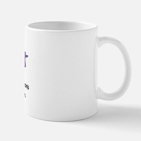 Fear Not - purple Mug