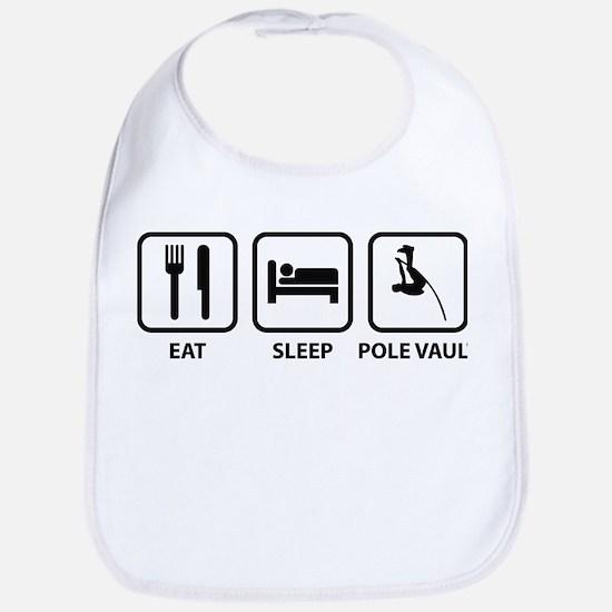 Eat Sleep Pole Vault Bib