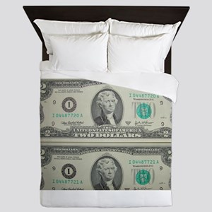FOUR DOLLARS™ Queen Duvet