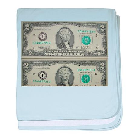 FOUR DOLLARS™ baby blanket