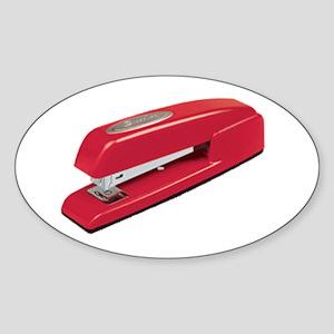 Milton's Stapler Oval Sticker