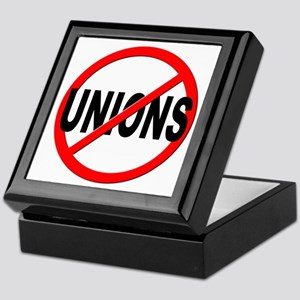 Anti / No Unions Keepsake Box