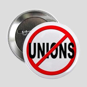 "Anti / No Unions 2.25"" Button"