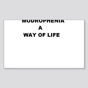 Modrophenia a way of life Sticker (Rectangle)