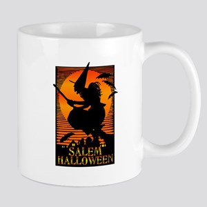 Halloween Salem Witch Mug