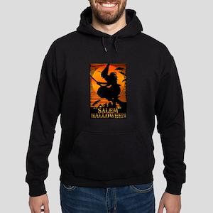 Halloween Salem Witch Hoodie (dark)
