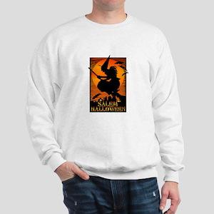 Halloween Salem Witch Sweatshirt
