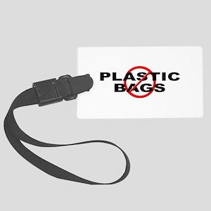 Anti / No Plastic Bags Large Luggage Tag