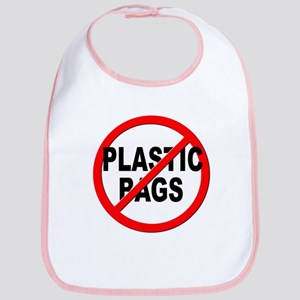 Anti / No Plastic Bags Bib