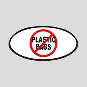 Anti / No Plastic Bags Patches