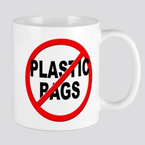 Anti / No Plastic Bags Mug