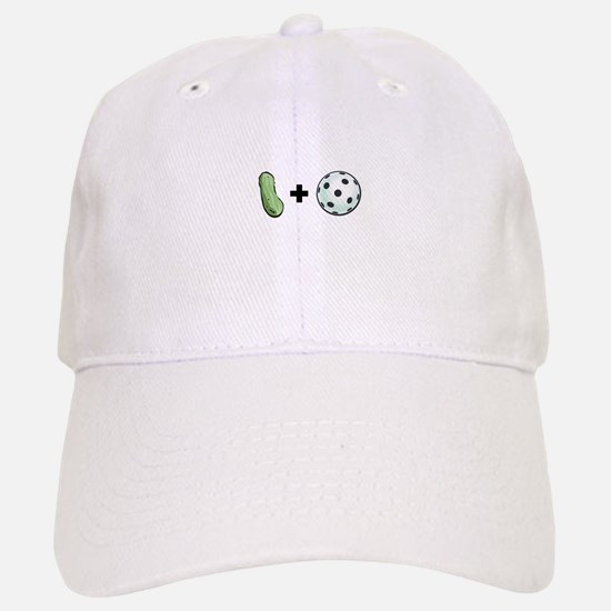 Pickle + Ball Baseball Baseball Cap