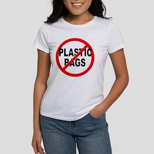 Anti / No Plastic Bags Women's T-Shirt